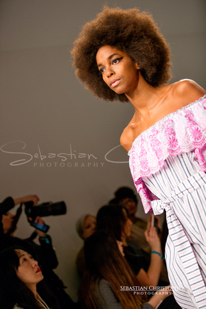 Ruffles Reinvented Spring/Summer Collection Catwalk at London Fashion Week Festival