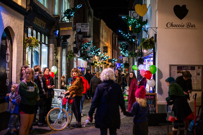 Exeter Gandy Street's Countdown To Christmas. Festive Family Time